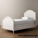 Tempat Tidur Anak Cat Duco Putih