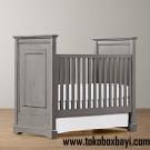 Tempat Tidur Bayi Abu-abu