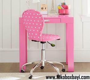 Meja Belajar Future Pink