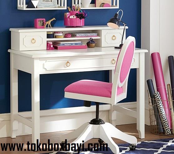 meja belajar, jual meja belajar kayu, meja belajar anak, toko jual meja belajar di jakarta, furniture anak